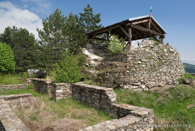Fortaleza Tsepina en Velingrad, Bulgaria