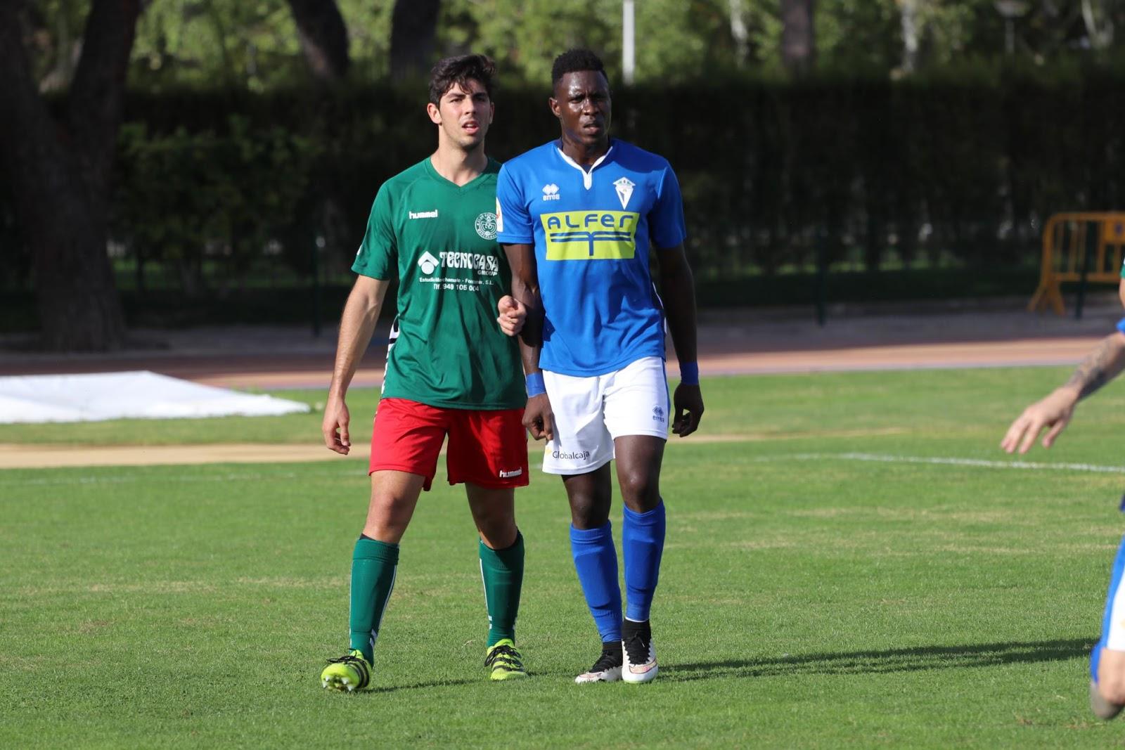 Ibu debutó como goleador mancheguista (Foto Juan Gallardo)