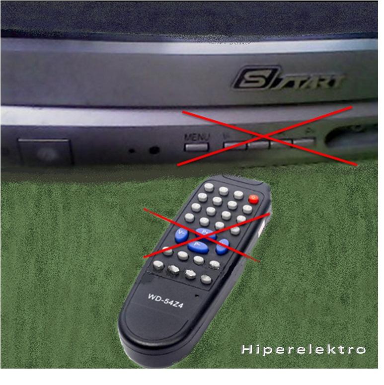 Memperbaiki Tv Cina Panel Dan Remote Tidak Berfungsi Hiperelektro