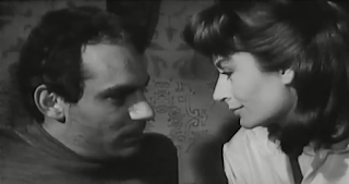 Carrà opposite Gian Maria Volontè in the 1963 film  Il terrorista, directed by Gianfranco De Bosio