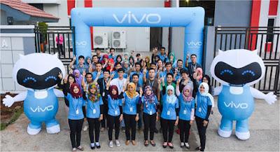 Lowongan Kerja Min SMA SMK D3 S1 PT Vivo Mobile Indonesia Jobs : Quality Control, PPIC Supervisor, General Affair Staff, Tax Specialist Membutuhkan Tenaga Baru Besar-Besaran