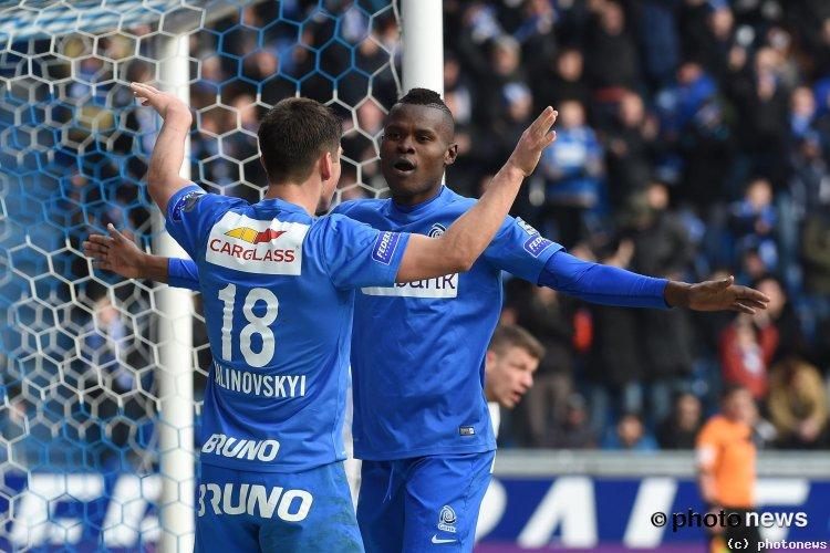 Samatta Scored for KRC Genk in a 4-0 win against KV Oostende