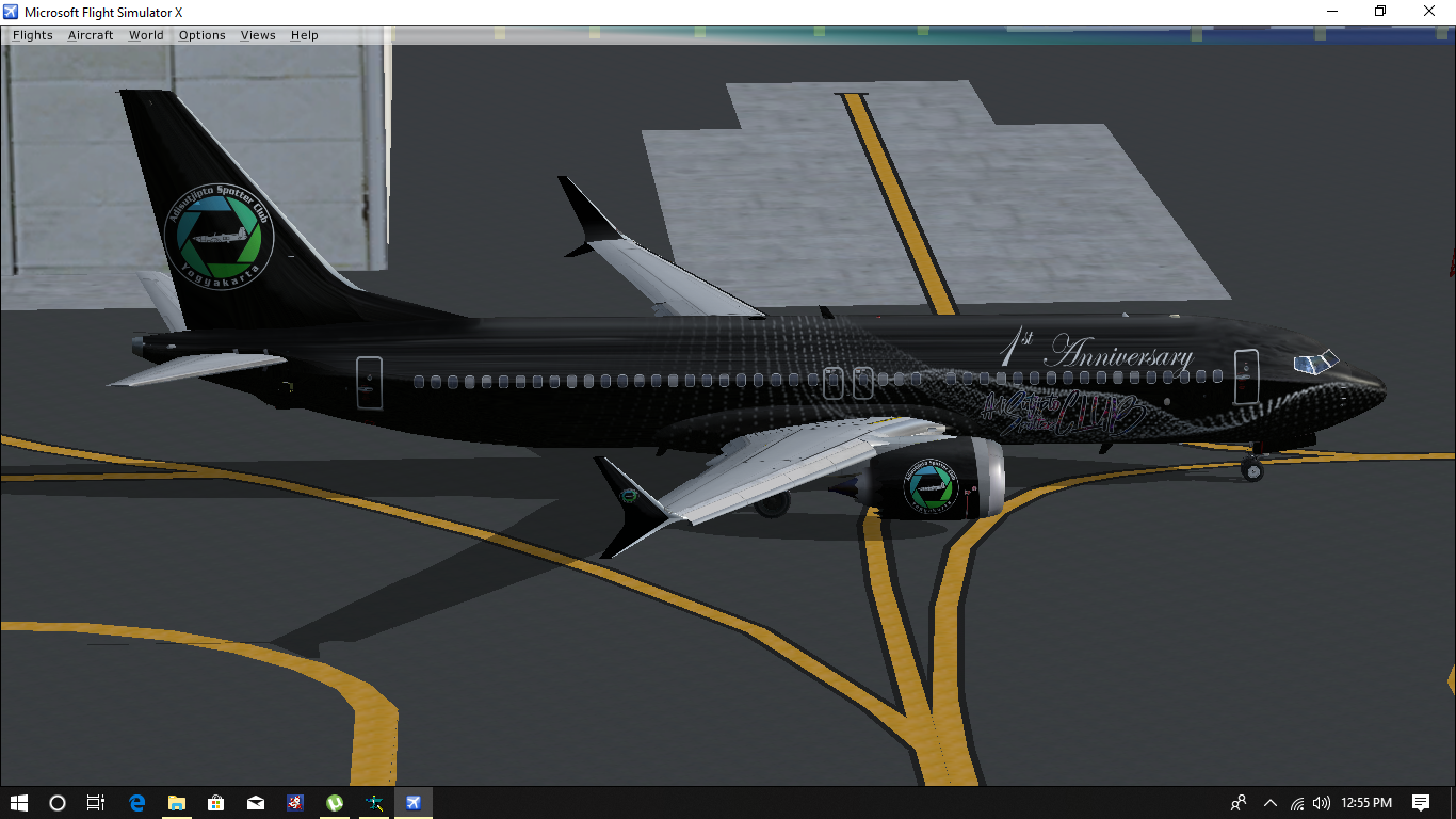 FSX] TDS 737 MAX 8 - 1st Anniversary ASC ~ Wahdhan Hadi