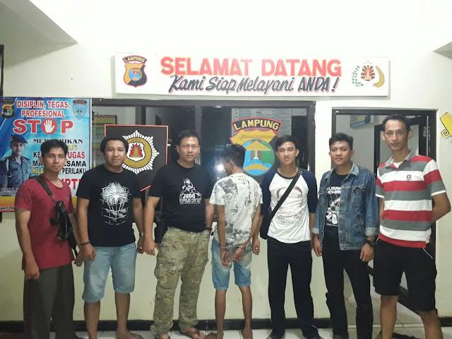 Mantab! DPO BD Sabu, Di Ringkus Polres Lampung Timur