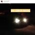 Carro em chamas na cidade de Cerro Corá