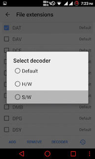 Select sw in mx player