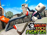 Angry Stick Fighter 2017 3D Apk Mod v1.1