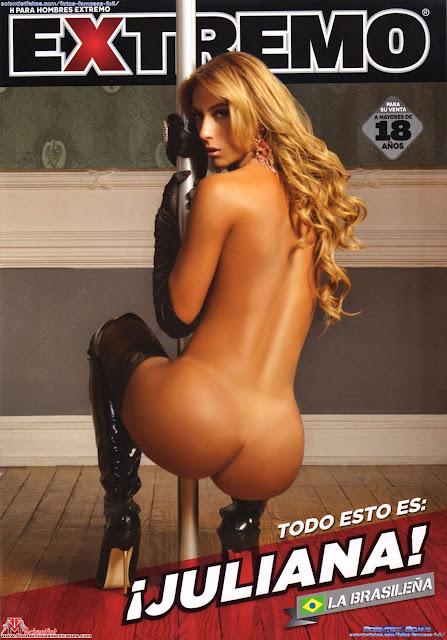 Juliana Rodriguez desnuda H Extremo Julio 2012 [FOTOS]-solorevistah.com
