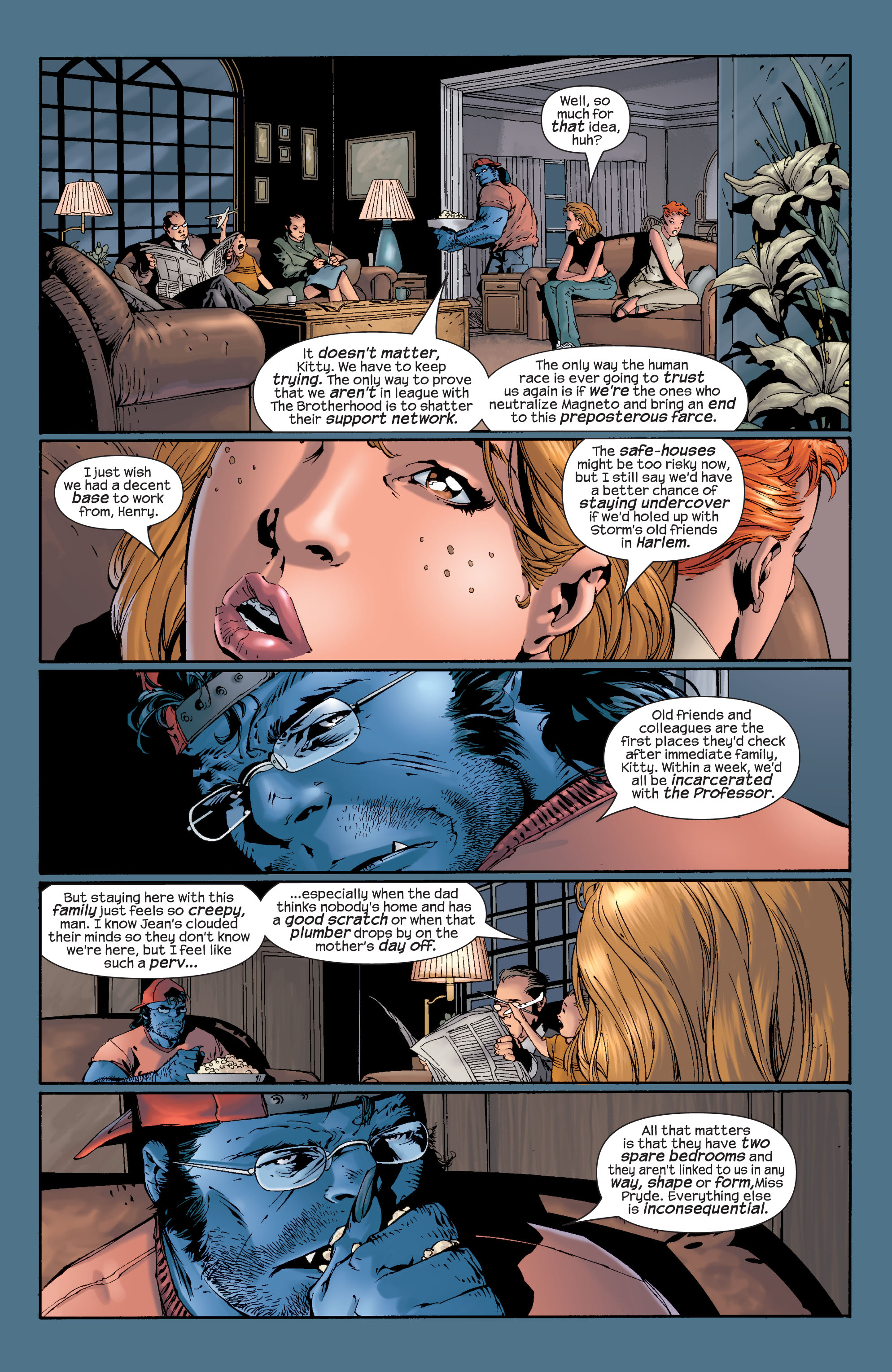 Read online Ultimate X-Men comic -  Issue #28 - 9