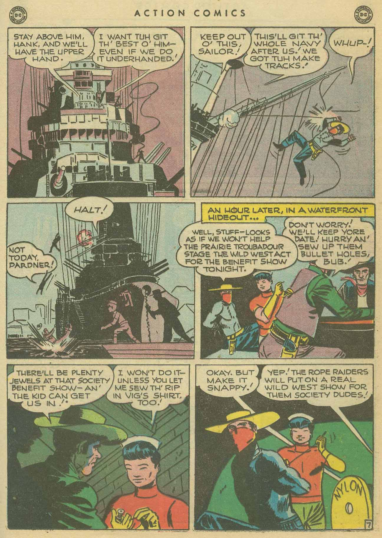 Read online Action Comics (1938) comic -  Issue #102 - 36