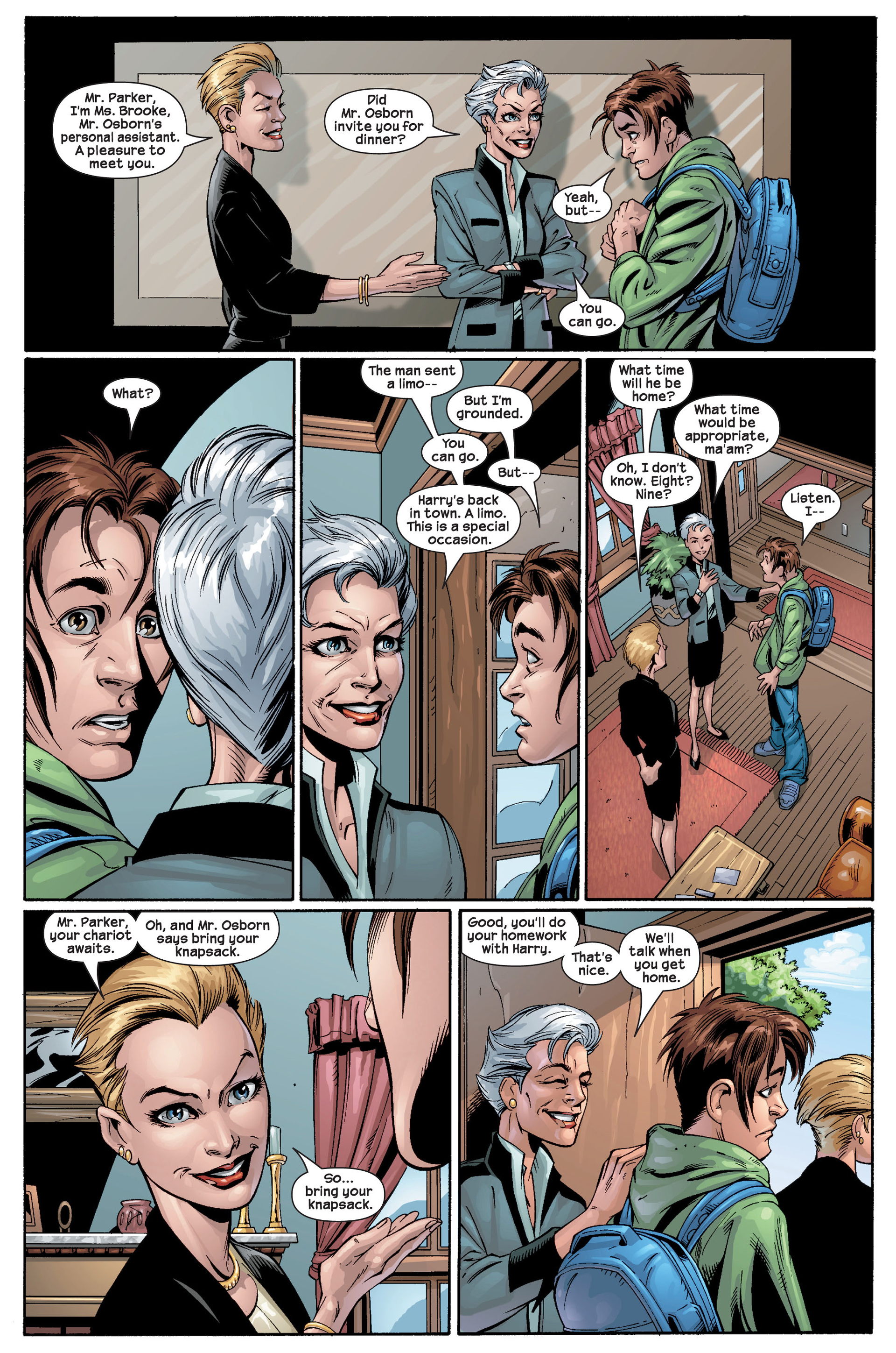 Read online Ultimate Spider-Man (2000) comic -  Issue #22 - 26