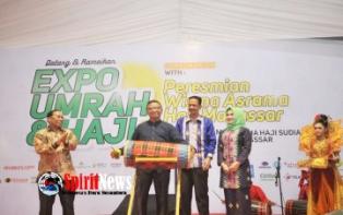 Wagub Sulsel,Membuka Expo Umrah dan Haji