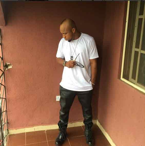 "Igwe 2pac aka Charles Okocha shows off ""swaggerlicious"" Sunday outfit"