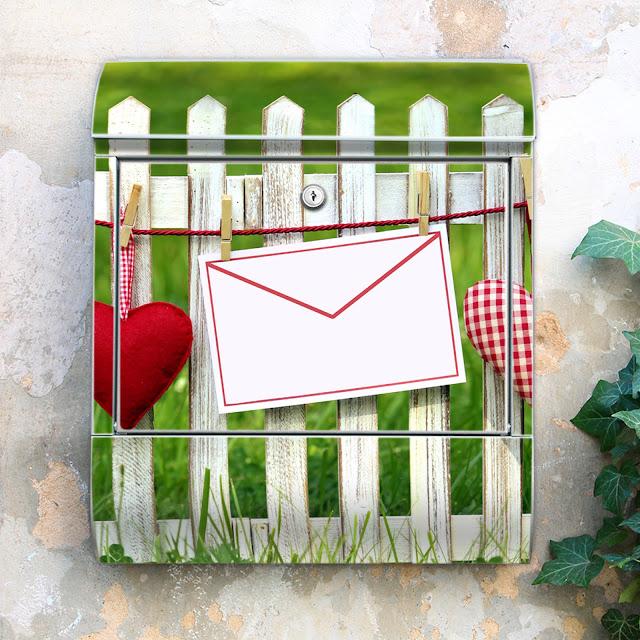 Briefkasten mit Motiv