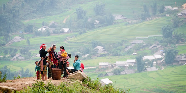 Experience the Northwest terraced fields by trekking 1