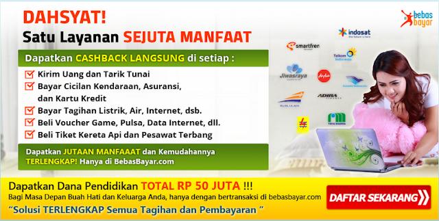 2 - Bisnis Pulsa dan Pembayaran Online bersama Bebasbayar pasti menguntungkan