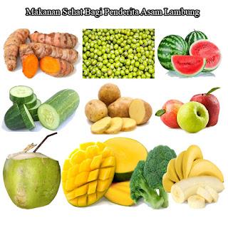 Makanan Sehat Bagi Penderita Asam Lambung - QnC Jelly