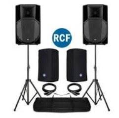 noleggio sistemi audio