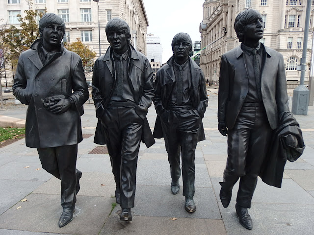 The Beatles, looking like they've walked straight out of 'A Hard Days Night