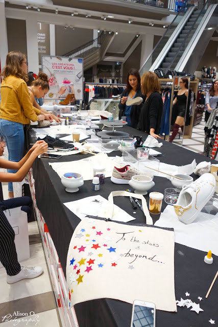 Atelier customisation DIY La Halle