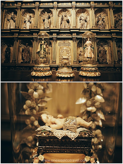Ivory sculptures of the Nativity - San Agustin Museum