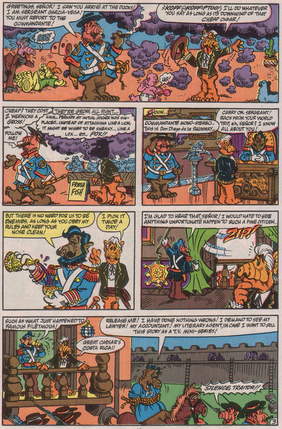 Read online ALF comic -  Issue #40 - 21
