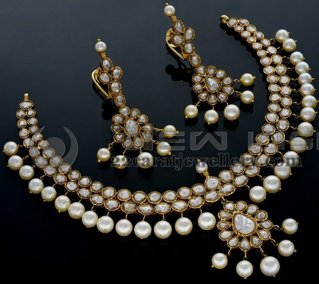 b22f397944712 Kundan Set by Shree Raj Jewellers - Jewellery Designs