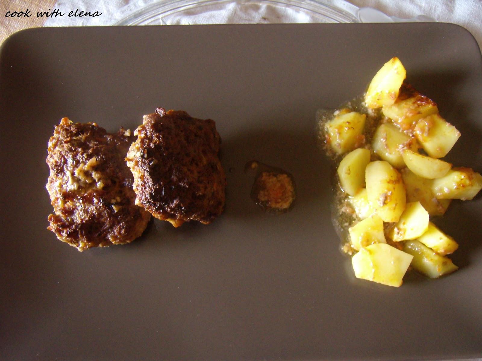 Απλά..... Μπιφτέκια με πατάτες στον φούρνο  db3a18630e7