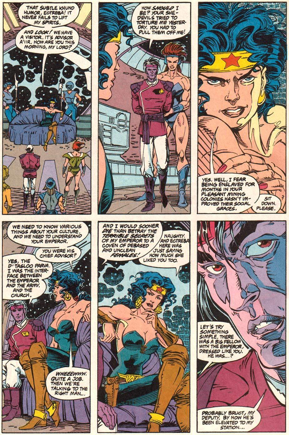 Read online Wonder Woman (1987) comic -  Issue #70 - 7