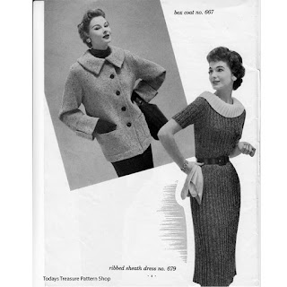 Knitted Rib Dress Pattern
