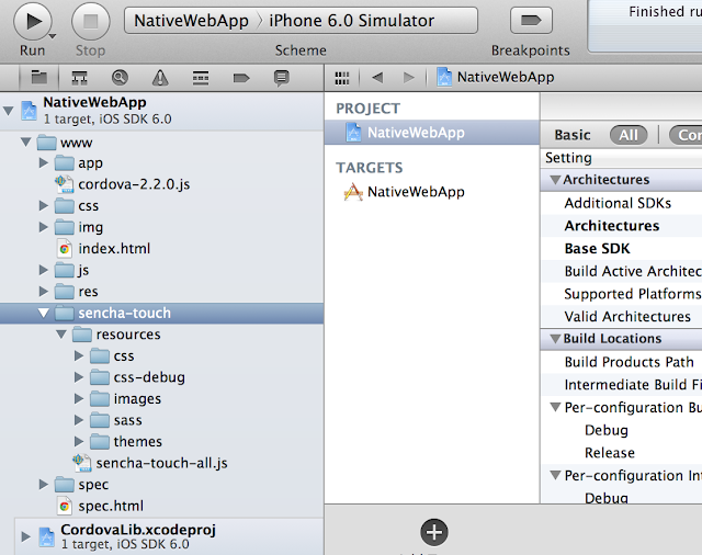 Integrate Sencha Touch with PhoneGap