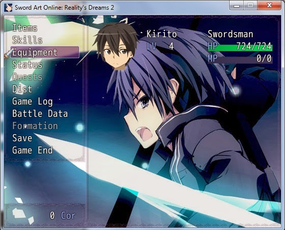 Premium Mini Games Free: Sword Art Online Reality's Dreams