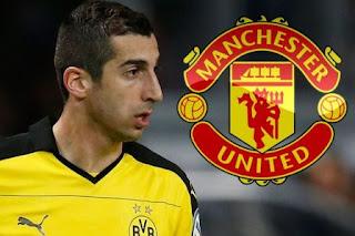 Manchester United Resmi Dapatkan Henrikh Mkhitaryan