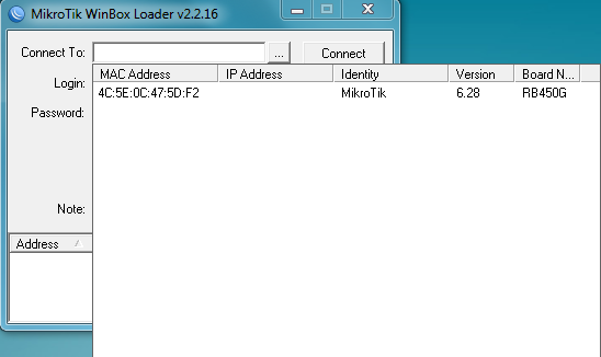 Default Username and Password for Mikrotik Router | Mikrotik