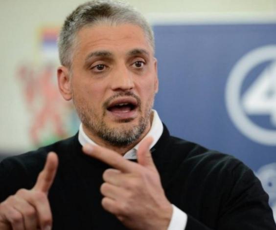 Čedomir Jovanović speaking