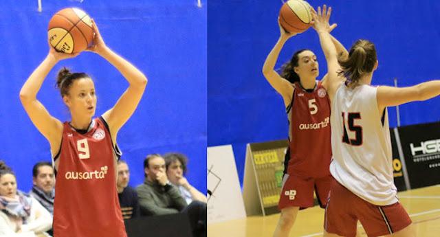 Baloncesto | Haizea Portillo y Estíbaliz García renuevan con el Ausarta Barakaldo EST