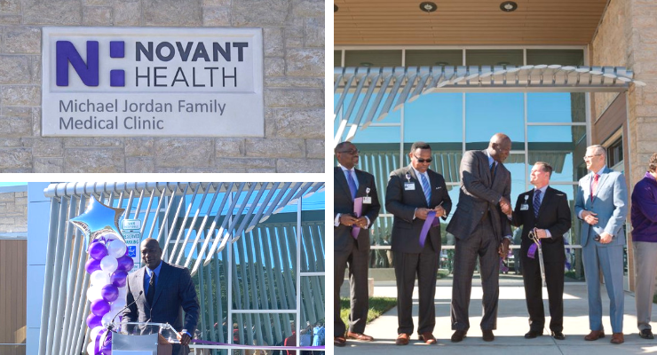 Michael Jordan Opened A Medical Clinic For Underprivileged People