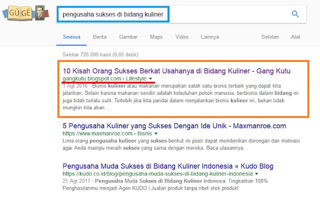 pageone google
