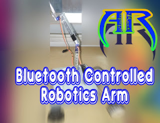 How to Make Bluetooth Controlled Robotic Arm Andro Root Sourabh Kumar