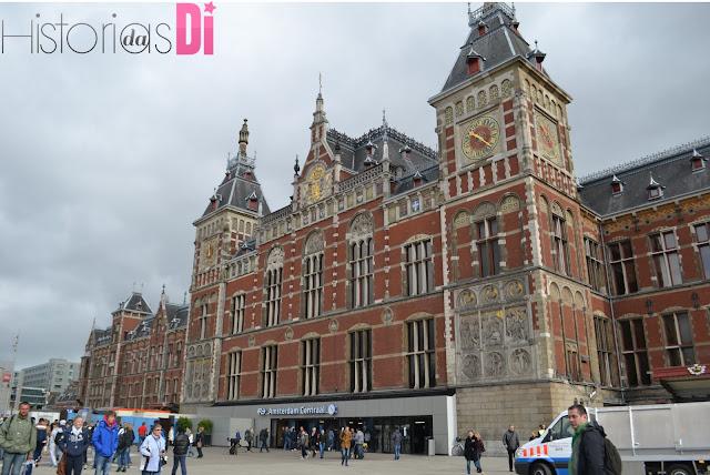 Estação Central de Amsterdã