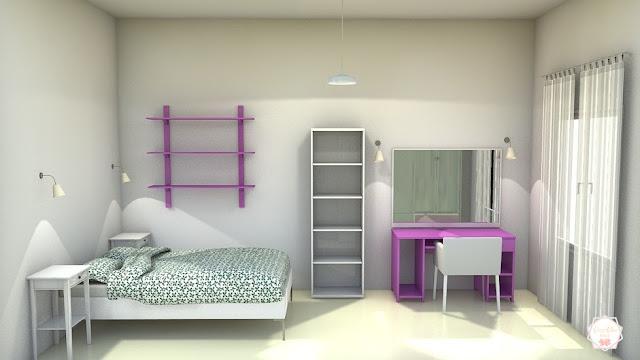 Proyecto 3D dormitorio