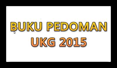 Buku Pedoman UKG 2015