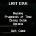Last Dive Update 30 - A First Menu!
