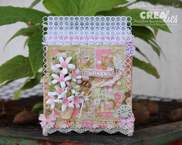 Cards Crafts Kids Projects Photo Holder With Easy Handmade Flowers