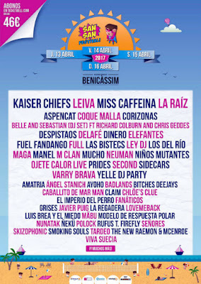 San San Festival 2017 CARTEL