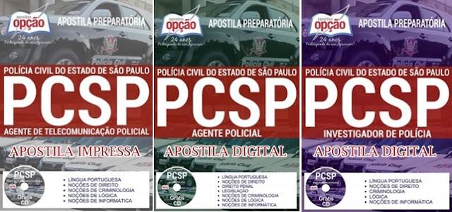 Apostila Polícia Civil SP Agente Policial (concurso PC-SP 2018)