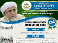 Universitas Imam Syafii Yaman Sediakan Beasiswa Bagi Lulusan Madrasah