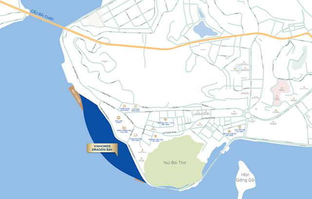 Vị trí Vinhomes Dragon Bay Hạ Long