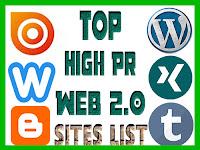 DoFollow Web 2.0 sites