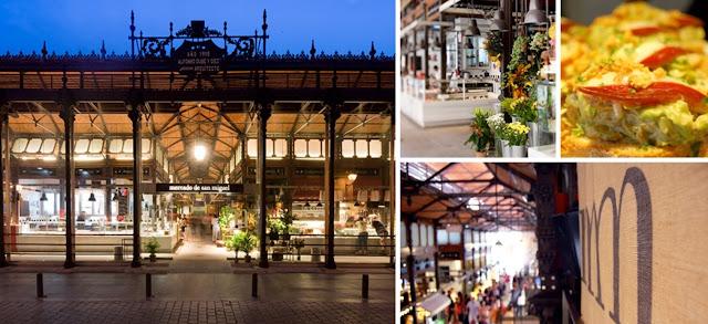 foto mercato di san Miguel Madrid